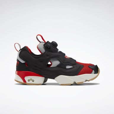 Classics Black Instapump Fury OG Shoes