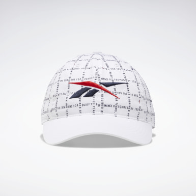 Classics White Classics Checks and Stripes Hat