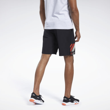 Men Cross Training Black Reebok CrossFit® Epic Base Shorts