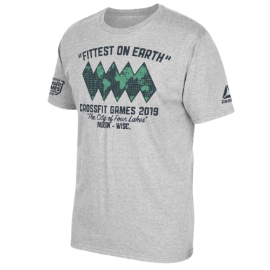 CrossFit�� Games Fittest On Earth Tee