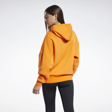 Frauen Studio Studio Restorative Hoodie Orange