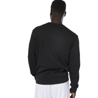 Men Classics Black Classics French Terry Big Iconic Crewneck