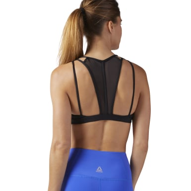 Dames Dance Zwart Dance Strappy Beha-Top