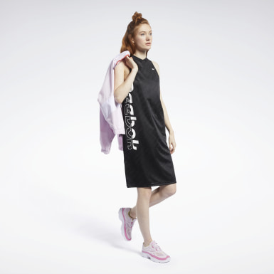 Women Fitness & Training Black Meet You There Basketball Dress