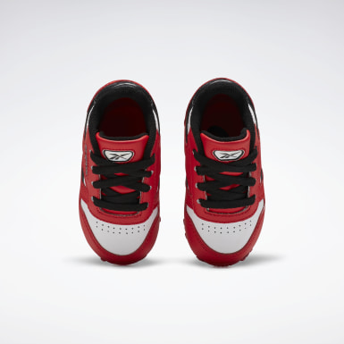 Boys Classics Red Classic Leather Shoes