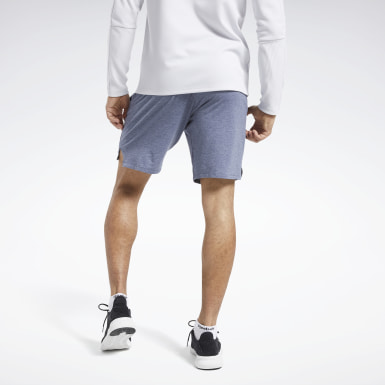 Men Cross Training Blue ACTIVCHILL+COTTON Shorts
