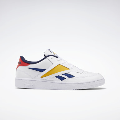 Men Classics White Club C Revenge Mark Shoes