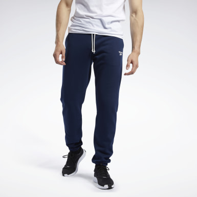 Men Fitness & Training Blue Training Essentials Pants