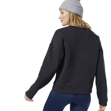 Workout Ready Sweatshirt met Ronde Hals