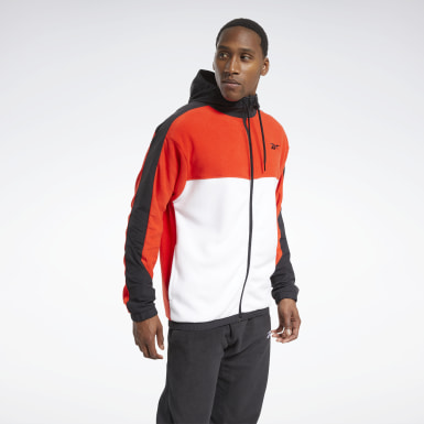 Men Outdoor Workout Ready Fleece Zip-Up Jacket
