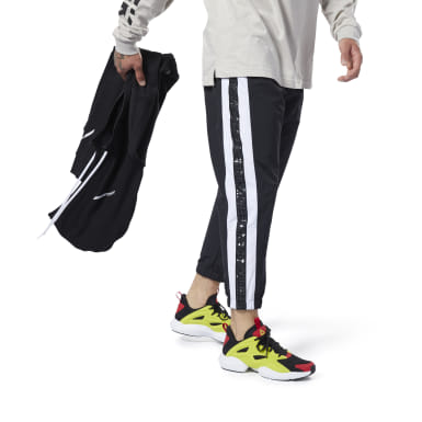 Pantaloni joggers Meet You There 7/8 Nero Uomo Fitness & Training