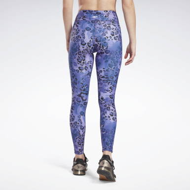 Frauen Fitness & Training Modern Safari Lux Bold Leggings Blau