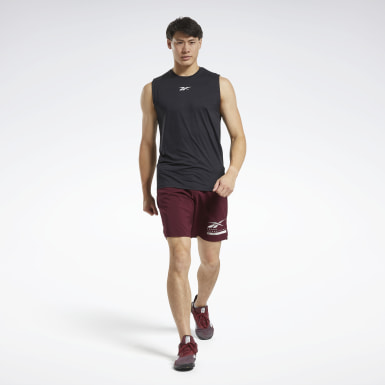 Men Training Black ACTIVCHILL Sleeveless Tee