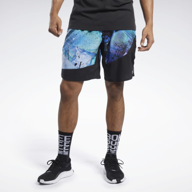 Männer Fitness & Training Epic Shorts Schwarz
