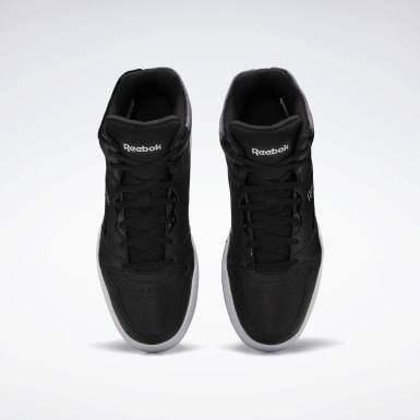Women Classics Black Reebok Royal BB4500 Hi 2 Shoes