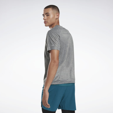 Playera Reflectante Move One Series Running Negro Hombre Running