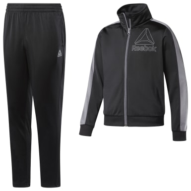 Boys Training Black Boys Workout Ready Tricot Tracksuit