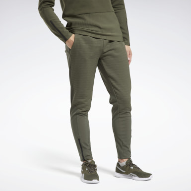 Men Hiking Green Thermowarm Deltapeak Pants