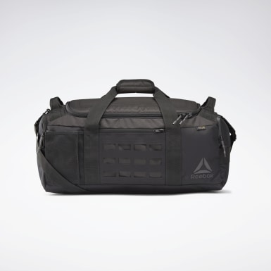 Cross Training Black Training Grip Duffel Bag