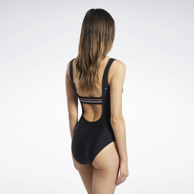 Women Training Reebok Raw Champ One Piece Swim Suit