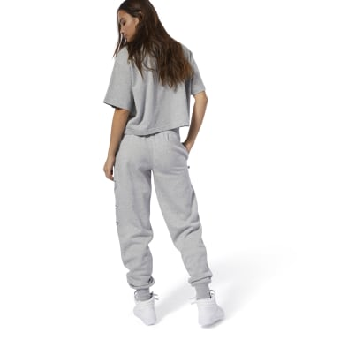 Women Classics Grey Classics Graphic Pants