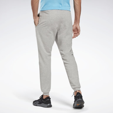 Men Fitness & Training Grey Reebok Identity Joggers