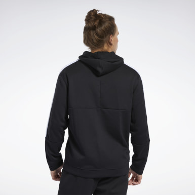 Men Training Black Workout Ready Hoodie