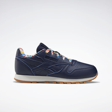 Kinder Classics Classic Leather Shoes Blau