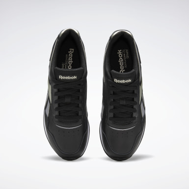 Women Classics Black Reebok Royal Glide Shoes