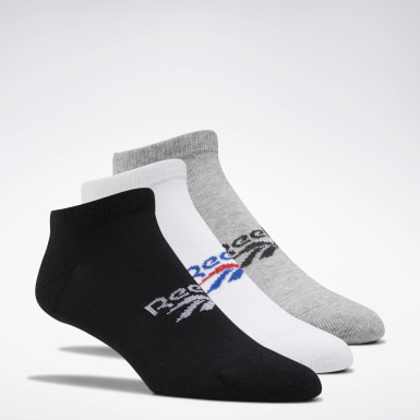 Classics Black Classics Foundation Low Cut Socks 3 Pairs