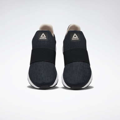 Women Walking Black Ever Road DMX Slip-On Women's Shoes