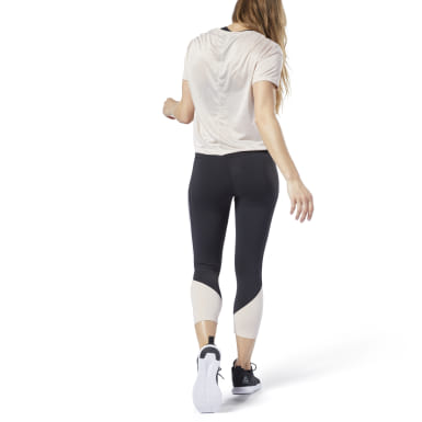 Legging 3/4 Reebok Lux Colorblocked 2.0