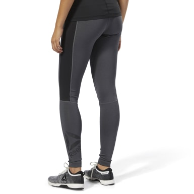 Reebok Workout Ready Big Logo Tights