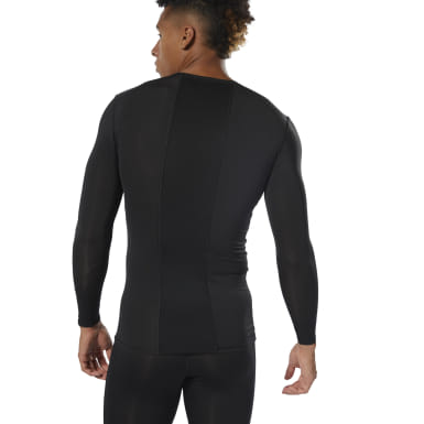 Men Training Black WOR Compression Tee