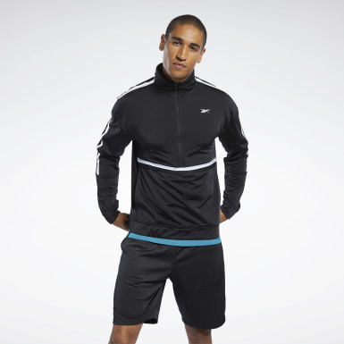 Men Fitness & Training Black Workout Ready Jacket