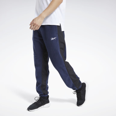 Men Outdoor Blue Workout Ready Pants