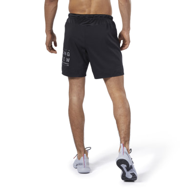 Shorts de 18 cm aprox. Running Essentials Negro Hombre Running