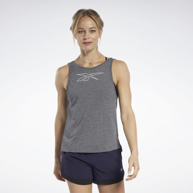 Canotta grafica ACTIVCHILL+COTTON Nero Donna Fitness & Training
