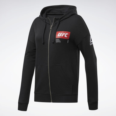 Women Combat Black UFC Fight Week Hoodie