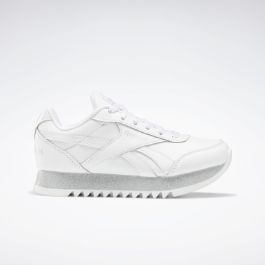 Kids Classics White Reebok Royal Classic Jogger Platform 2 Shoes