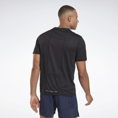 Männer Trail Running Running Essentials Shirt Schwarz