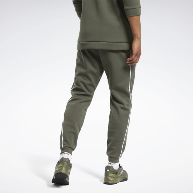 Men Outdoor Green Workout Ready Joggers