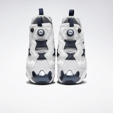 Classics Grey Instapump Fury Original Men's Shoes