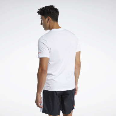 Playera Reebok Pride Blanco Fitness & Training