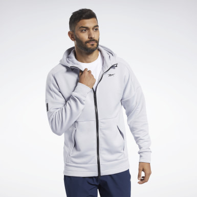 Felpa con cappuccio United by Fitness Full-Zip