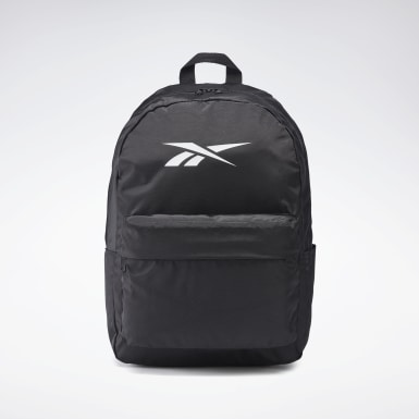 Fitness & Training Black Linear Logo Backpack