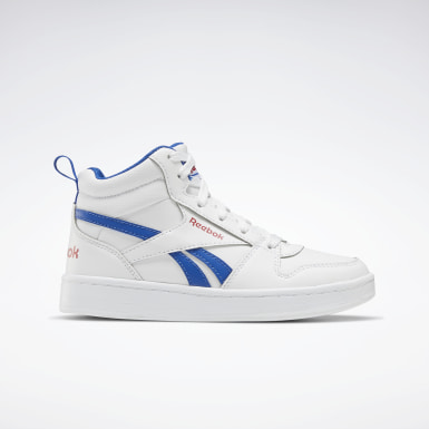 Boys Classics White Reebok Royal Prime Mid 2 Shoes