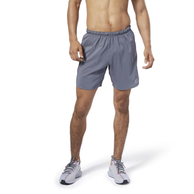 Men Running Grey Running Essentials 7-Inch Shorts