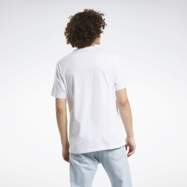 Classics White Classics Linear Vintage Tee