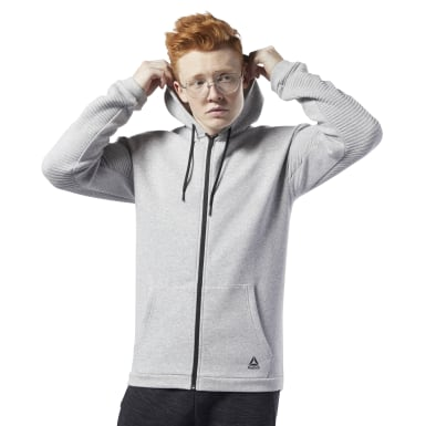 Felpa Workout Ready Full-Zip Fleece
